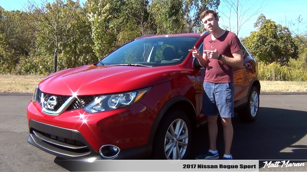2017 nissan rogue sv review