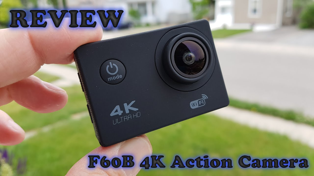 4k wifi action camera review
