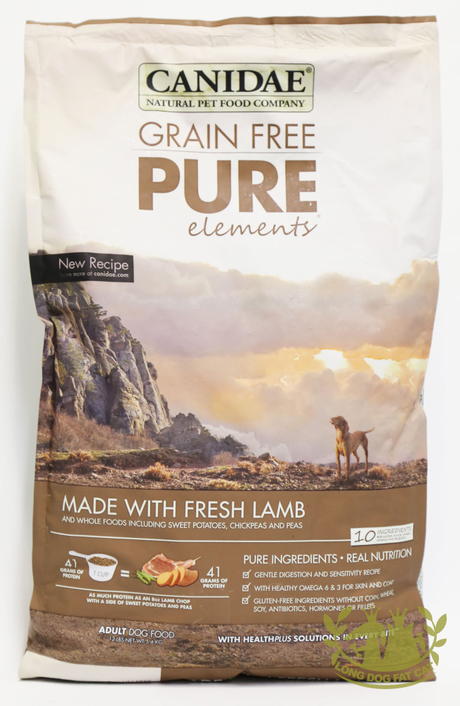 canidae pure dog food review