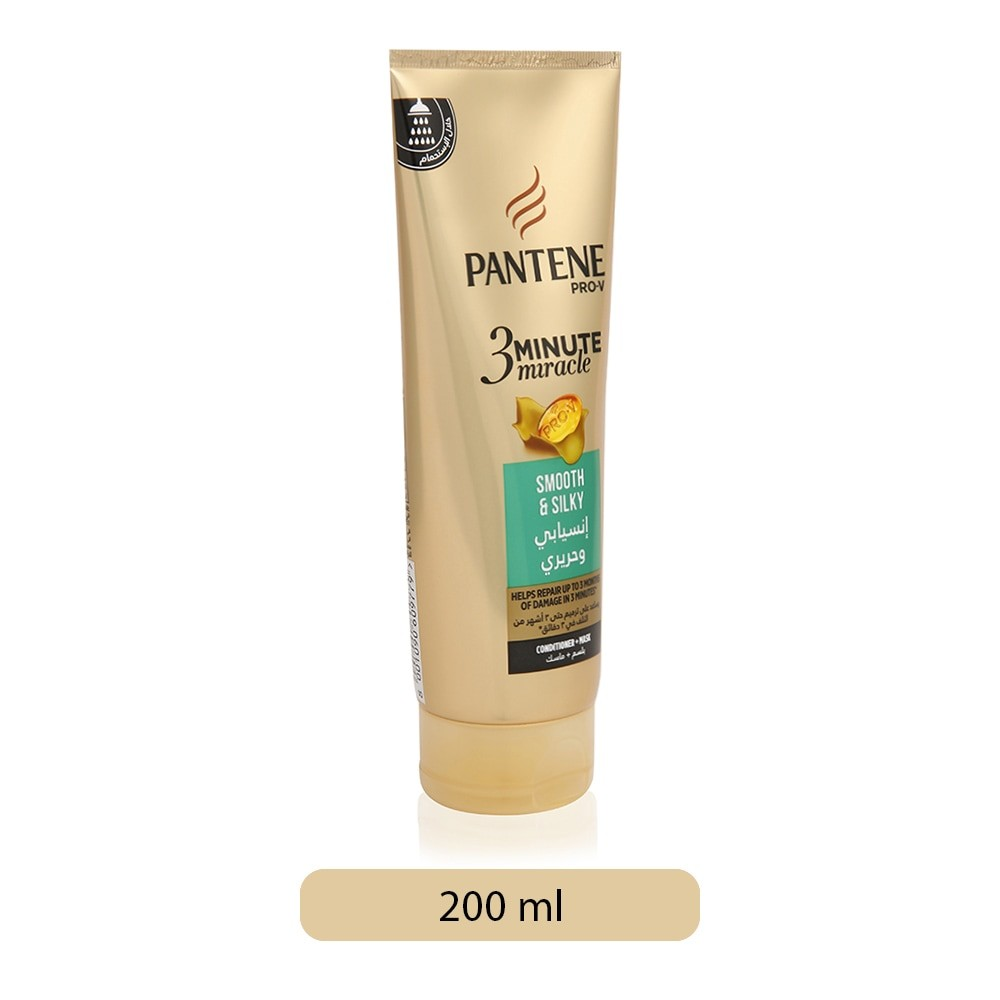 pantene 3 minute miracle smooth and sleek review