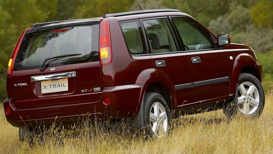 used nissan x trail review